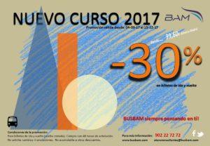 Promoción Nuevo Curso 2017